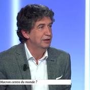 Eric Decouty : « Macron est omniprésent, il occupe toutes les places et c'est dangereux pour l'avenir »