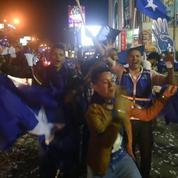 Honduras: des partisans de Hernández fêtent sa victoire présumée