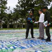 12 tonnes de cocaïne saisies en Colombie, un record historique