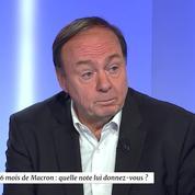 Jérôme Jaffré : «Si j'étais de gauche, je mettrais 4/10 à Macron. Si j'étais de droite, 8/10»