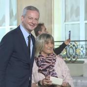 Macron a accueilli les maires à l'Élysée