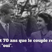 La reine Elizabeth II et le prince Philip fêtent leurs 70 ans de mariage