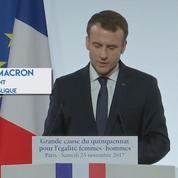 Macron veut fixer à 15 ans l'âge de consentement sexuel