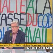 Pierre Laurent : «Emmanuel Macron c'est le père Noël des riches»