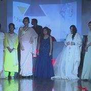 Inde: des survivantes d'attaques à l'acide sur les podiums