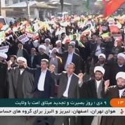 En Iran, les partisans du régime descendent dans la rue