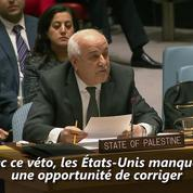 Jérusalem : Washington oppose son veto et se retrouvé isolé