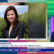 Valérie Bozzi : «En Corse, notre électorat ne se déplace plus, tout est à reconstruire»