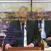Standing ovation de l'Assemblée nationale en l'honneur de Johnny Hallyday