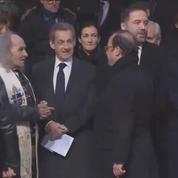 Obsèques de Johnny Hallyday : François Hollande, Nicolas Sarkozy et Edouard Philippe sont arrivées