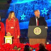 Le couple Trump a allumé le sapin de Noël la Maison Blanche