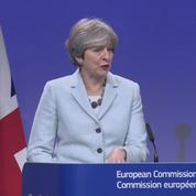 Brexit: May garantit «l'absence de frontière dure» en Irlande