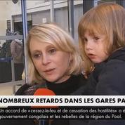 Week-end de Noël : pagaille monstre dans plusieurs gares parisiennes