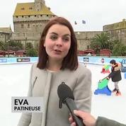 A St-Malo, la patinoire rend hommage à Johnny