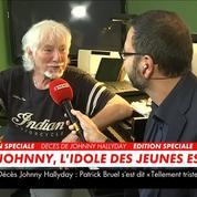 Hugues Aufray sur la mort de Johnny Hallyday : «C'est une partie de ma vie qui s'en va»