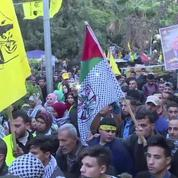 Le Fatah célèbre son anniversaire à Gaza
