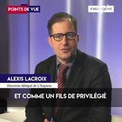 Alexis Lacroix (L'Express) :