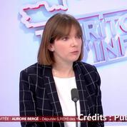 Aurore Bergé sur l'affaire Darmanin : «Il ne faut pas que la présomption d'innocence soit balayée par une présomption de culpabilité»
