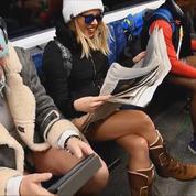 En sous-vêtements dans le tramway : c'est la 17e journée sans pantalon