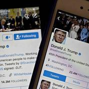 Le président Donald Trump en 12 tweets