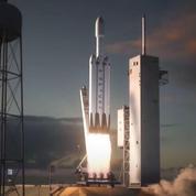 Falcon Heavy, le lanceur lourd de SpaceX se prépare pour son premier vol