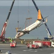 Turquie : opérations pour récupérer l'avion sorti de piste
