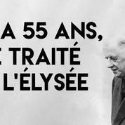 Il y a 55 ans, la France et l'Allemagne se réconciliaient à l'Élysée