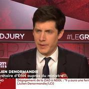 Accusé de minorer le nombre de SDF, Julien Denormandie se défend