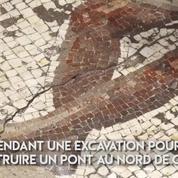Une mosaïque romaine découverte au nord d'Israël