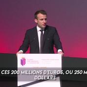Macron annonce 200 millions d'euros pour l'éducation