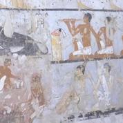 Égypte : une tombe datant de 4400 ans découverte à Gizeh