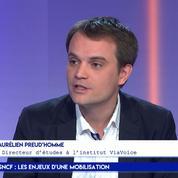 Aurélien Preud'homme : « 59% des français sont favorables à la réforme de la SNCF »