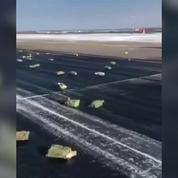 Un avion russe fait tomber 172 lingots d'or au décollage
