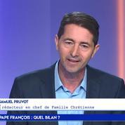 Samuel Pruvot : «Le pape François est capable de mordre»
