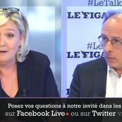 Marine Le Pen : «Je souhaite changer le nom du FN car le parti a lui-même changé de nature»