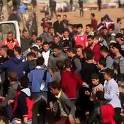Gaza : vives tensions entre Palestiniens et soldats israéliens