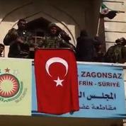 Les forces turques prennent le contrôle du centre d'Afrine