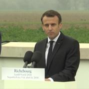 L'hommage d'Emmanuel Macron au «Verdun portugais»