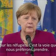 Angela Merkel annonce l'accueil par l'Allemagne de 10 000 migrants