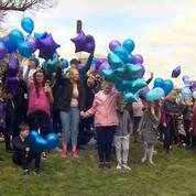 Des ballons lâchés en mémoire d'Alfie Evans