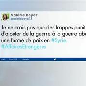 La question de Syrie divise la classe politique française