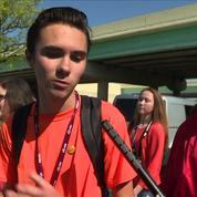 À Parkland, les lycéens rescapés de la tuerie de février commémorent les victimes de Columbine