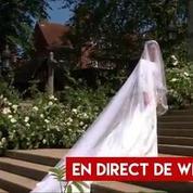 Mariage princier : tous les détails sur la tenue de mariée de Meghan Markle