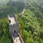 Chine : le très difficile marathon de la Grande Muraille a attiré 2.500 coureurs