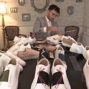 Un réfugié syrien crée sa propre marque de chaussures et séduit l'industrie de la mode