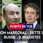Points de vue du 25 mai 2018 : Jihadisme, Marion Maréchal, SNCF, Macron en Russie