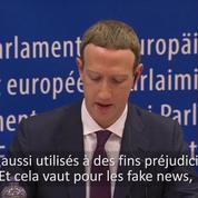 Les excuses de Mark Zuckerberg devant le Parlement européen