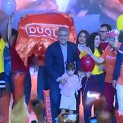 Présidentielle en Colombie : le candidat opposé à l'accord de paix en tête au 1er tour