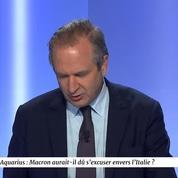 Aquarius : Macron aurait-il dû s'excuser ?