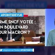 Réforme de la SNCF votée : un boulevard pour Macron ?